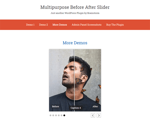 Demos - Before And After Slider Plugin