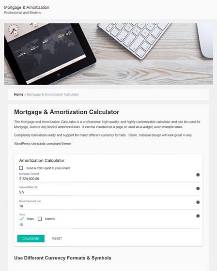 mortgage-loan-calculator-wordpress-plugin