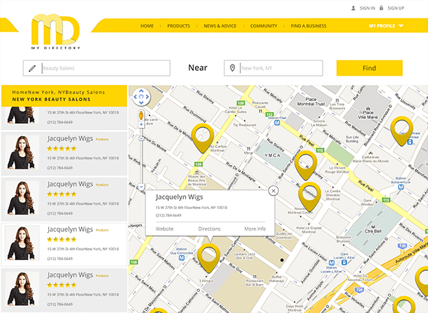 Maps - Business Listing PHP Script