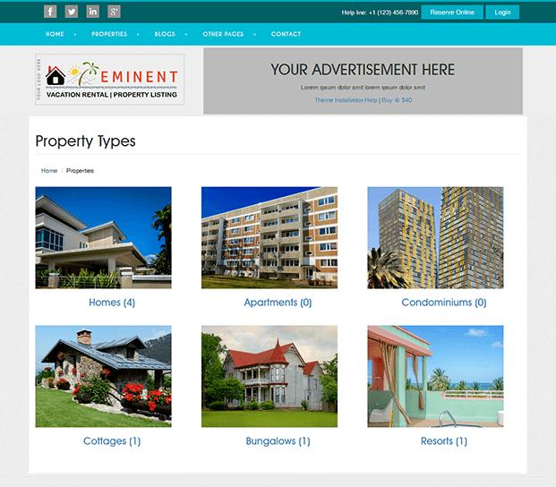 Properties - Property Listing Script