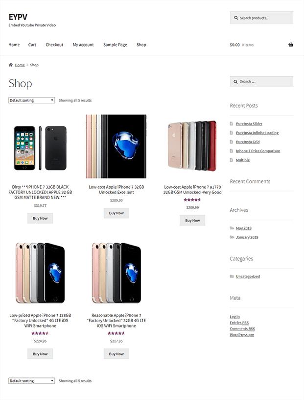 Shop-ebay Importer Woocommerce Plugin