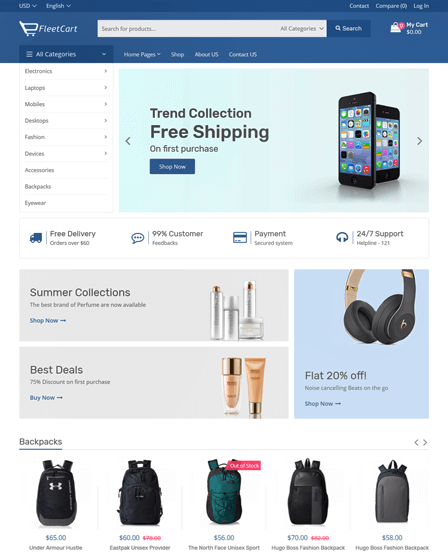 Laravel E-commerce Script