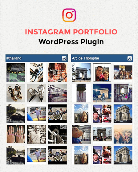 Instagram Portfolio WordPress Plugin