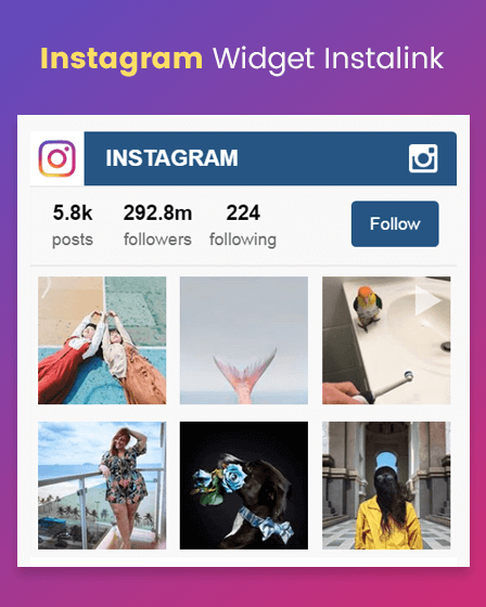 Instagram Plugin For WordPress
