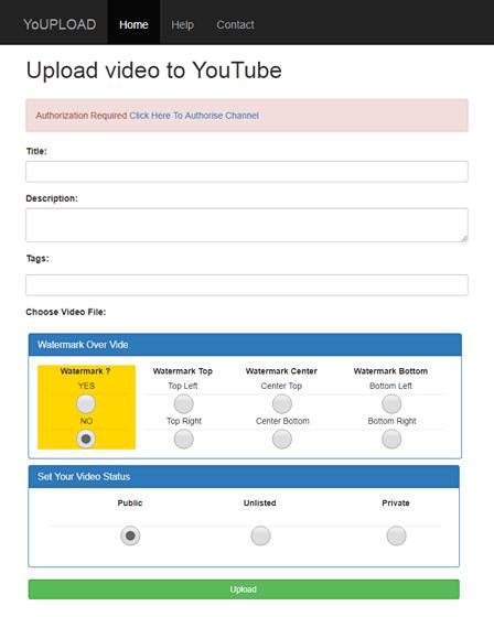 YouTube Video Uploader Software