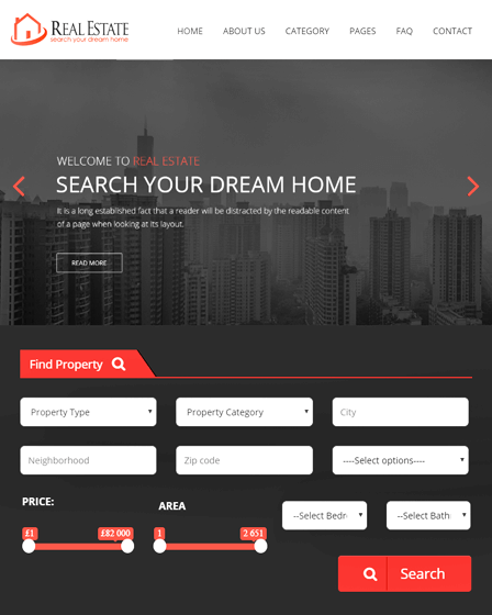 Real Estate Website PHP Script