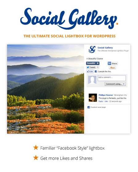 WordPress Gallery Lightbox Plugin