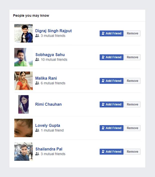 Add Friend - Facebook Login PHP Script
