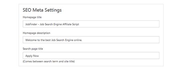 SEO - Job Portal Script