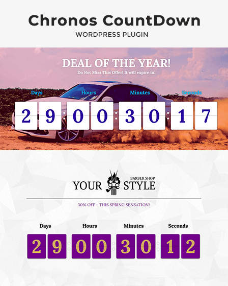 Preview-WP CountDown Plugin