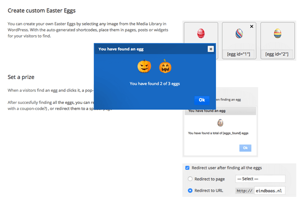 Custom Eggs - WordPress Easter Egg Plugin