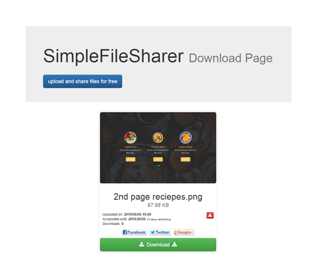 Delete - File Sharing Script PHP