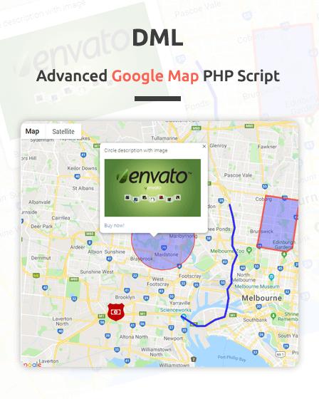 Google Map PHP Script