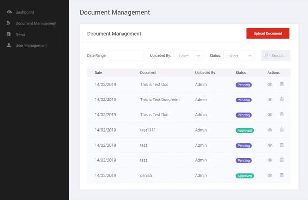 Document Management - PHP Digital Signature Script