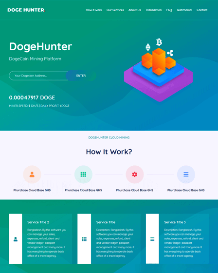 Dogecoin Mining Script