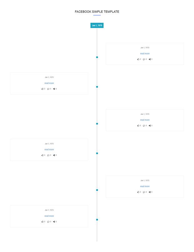 Facebook Post - Timeline Plugin For WordPress
