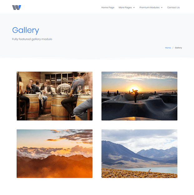 Gallery - Content Management System In PHP