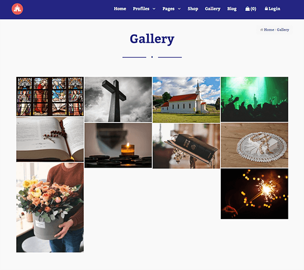 Gallery - Church Management Software