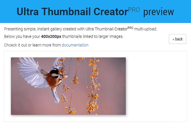 Preview - Thumbnail PHP Script