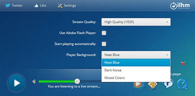 Player Background - Radio Player Script
