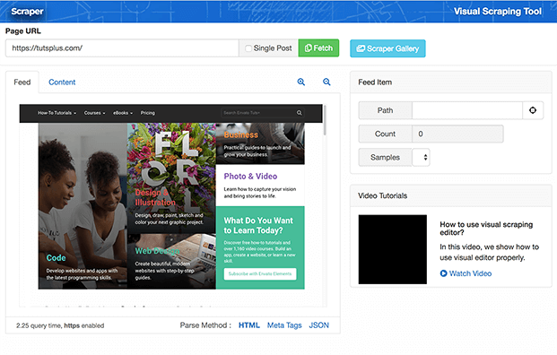 WordPress Content Scraper Plugin