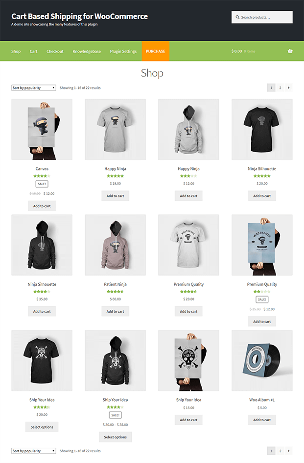 Shop - WooCommerce Plugin Shop