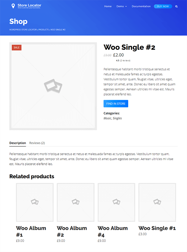 Single Store Pages - WP Store Locator Plugin
