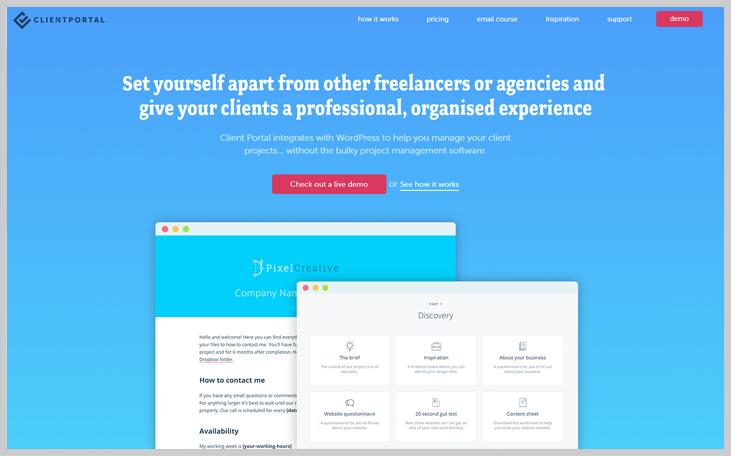 Client Portal - Client Portal WordPress Plugin