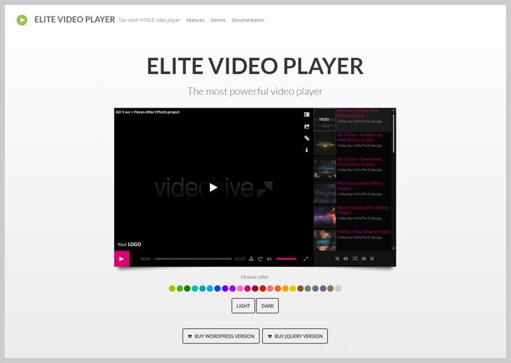 Elite - Live Streaming WordPress Plugins