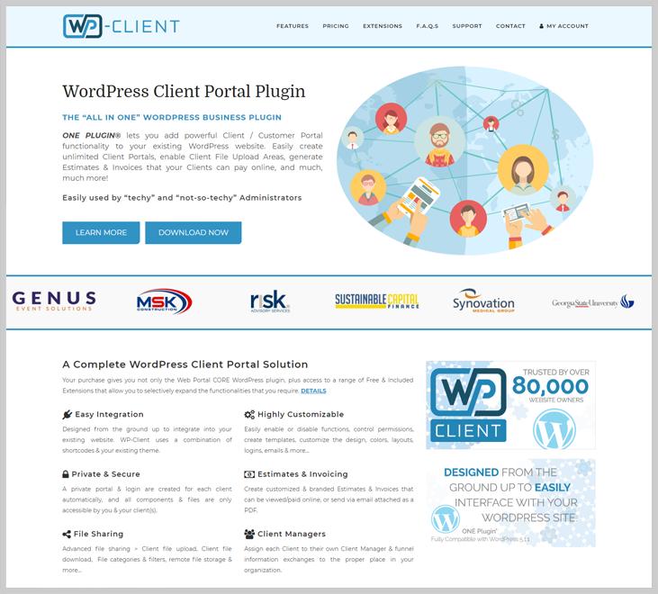 WP-Client - Client Portal WordPress Plugin