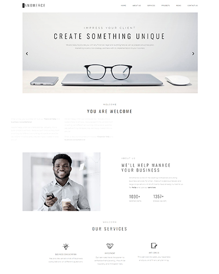 Business Elementor WordPress Theme