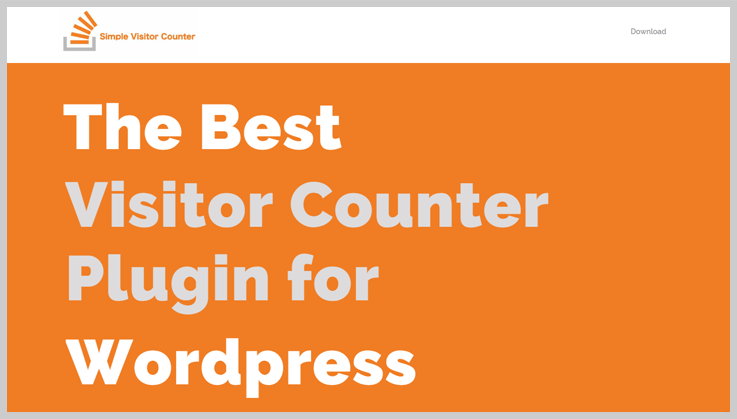 Simple Visitor Counter -Visitor Counter WordPress Plugin