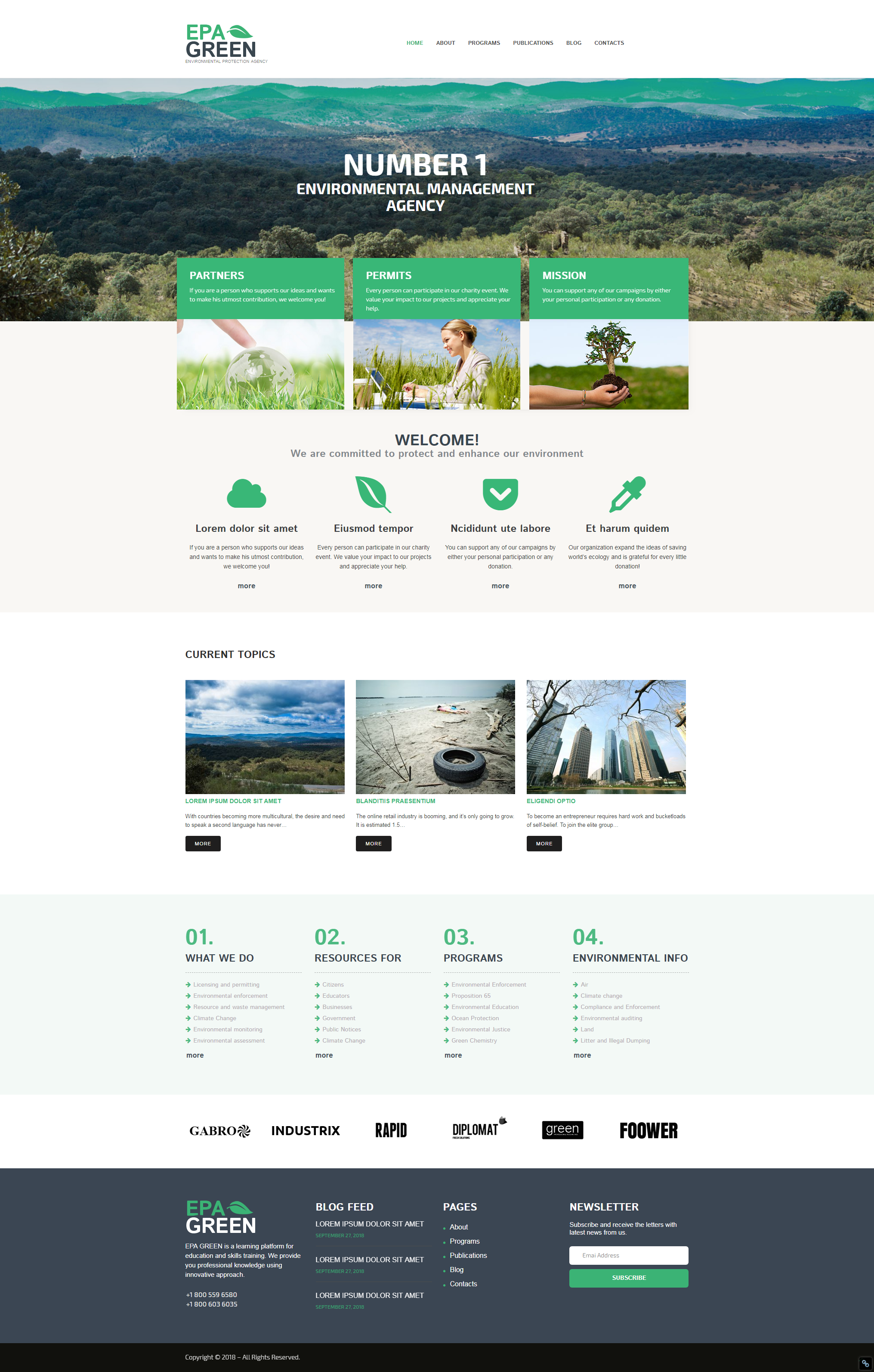 Home - Best Responsive WordPress Theme