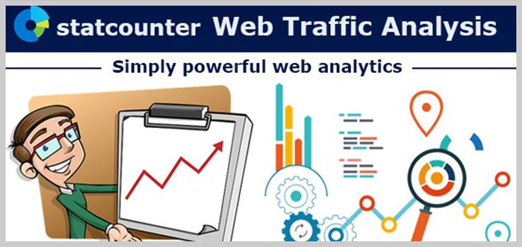 Statcounter Web Traffic Analysis - Best Visitor Counter WordPress Plugins