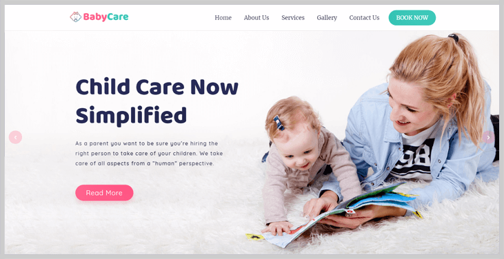 Babycare - Elementor WordPress Themes