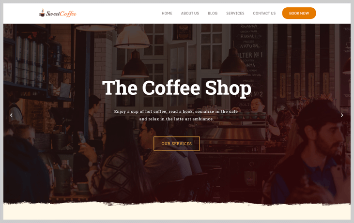 SweetCoffee - Elementor WordPress Themes