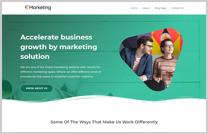 Marketing - Elementor WordPress Themes