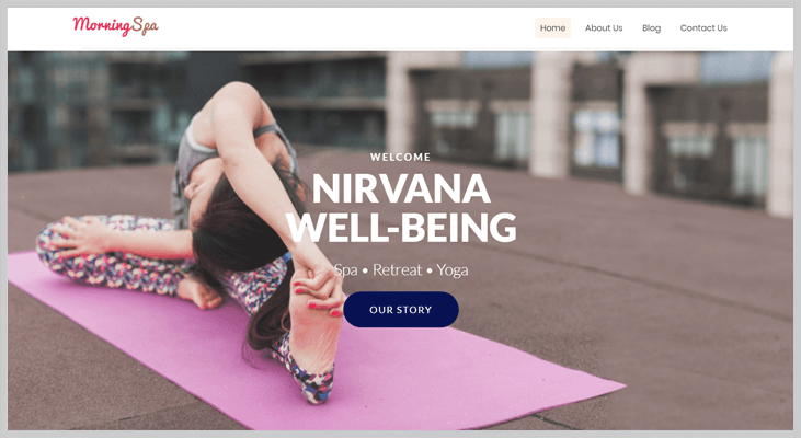 MorningSpa - Elementor WordPress Themes