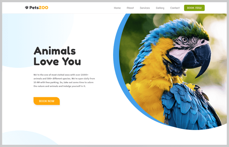 PetsZoo - Elementor WordPress Themes