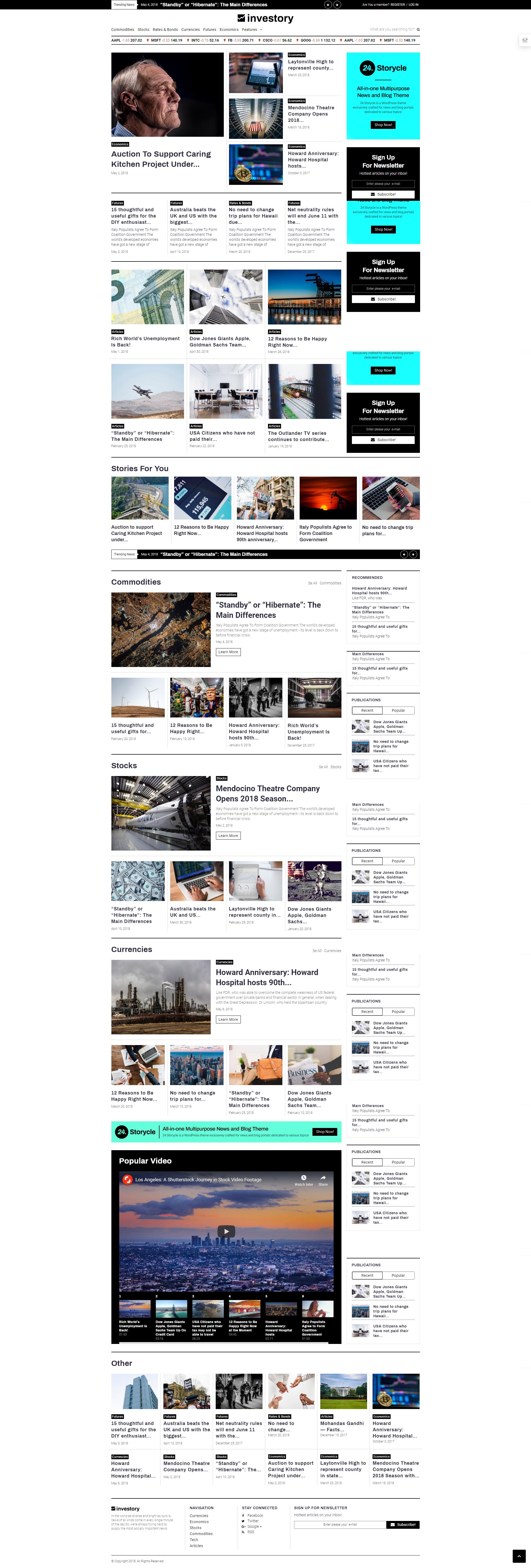 Skin - WordPress Theme For News Portal