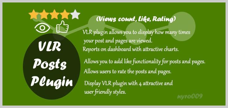 WordPress Views Likes & Ratings - Best Visitor Counter WordPress Plugins