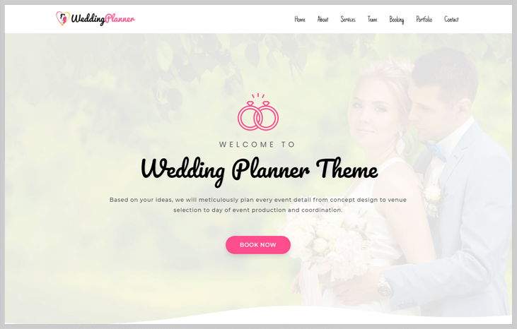 WeddingPlanner - Elementor WordPress Themes