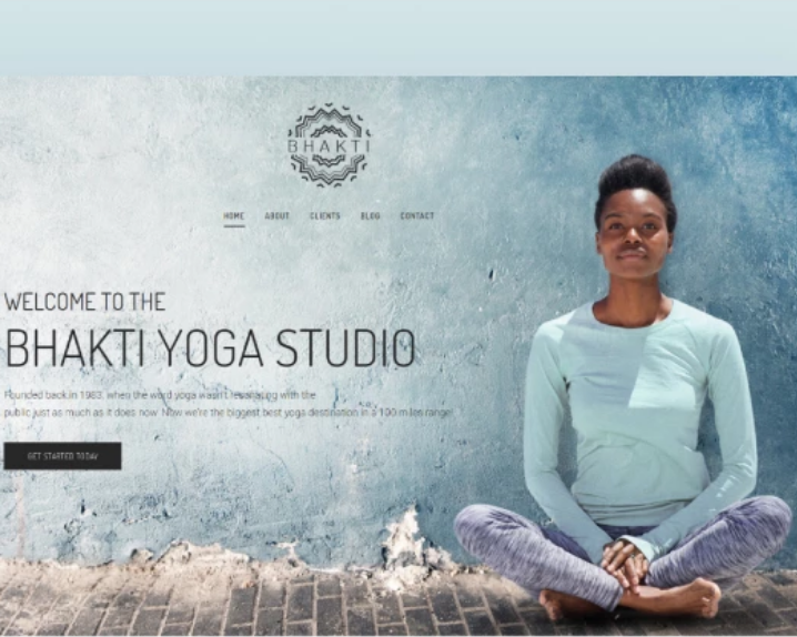 Bhakti Yoga WordPress Theme