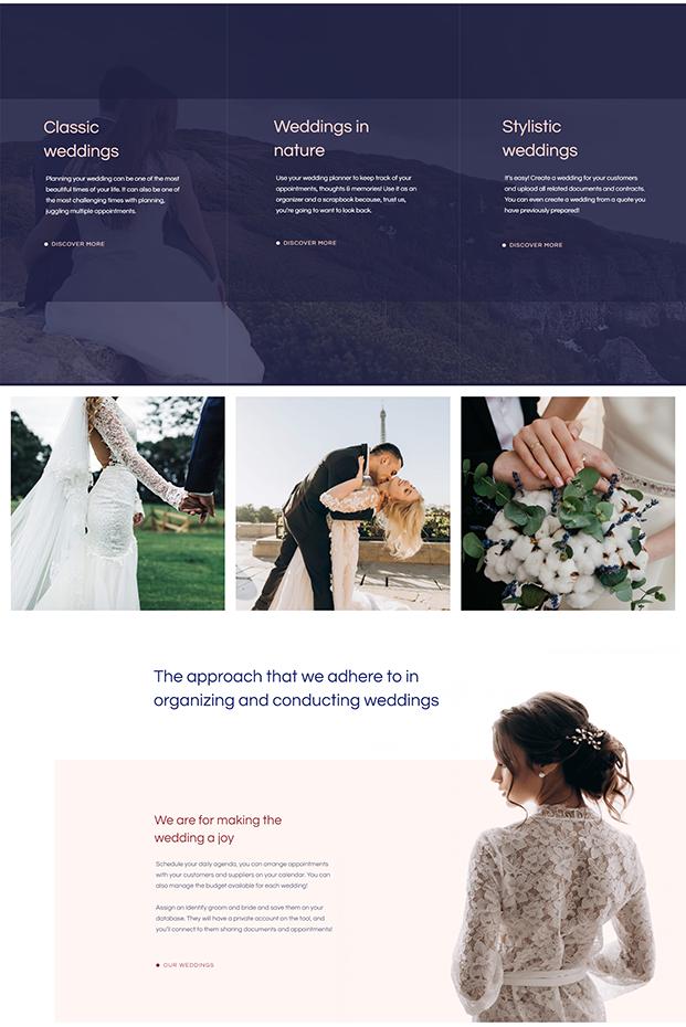 About Us - Wedding WordPress Theme