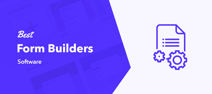 5 Best Form Builder Software