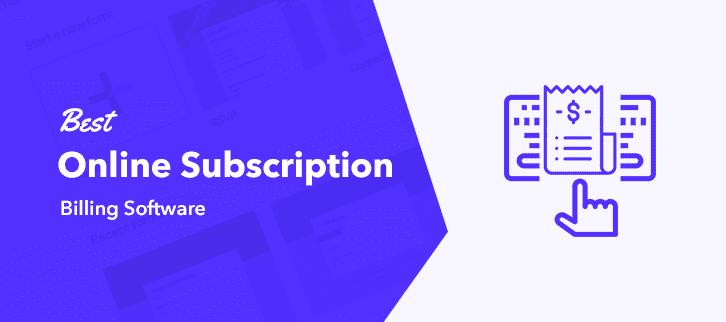 Best Online Subscription Billing Software