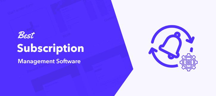 Best Subscription Management Software