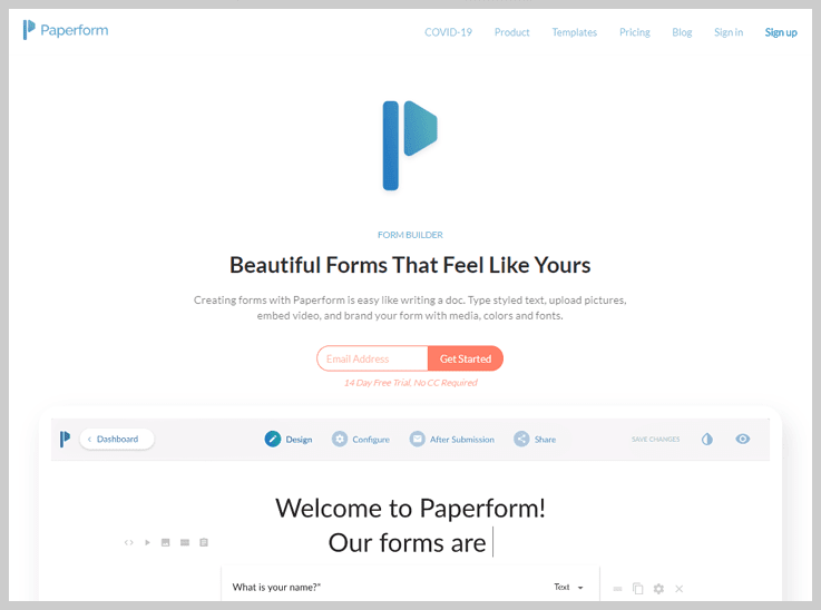 Paperform - Grow Your Subscription