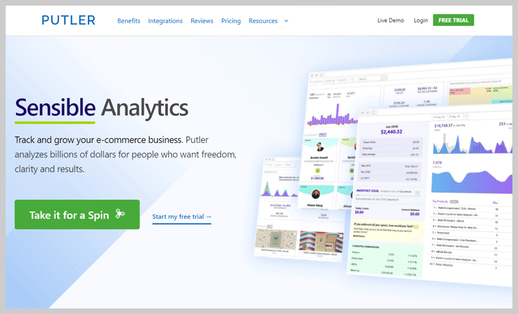 Putler - PayPal Analytics Software
