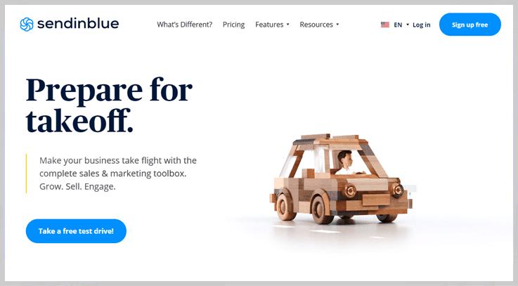 SendinBlue - Real Estate Email Marketing